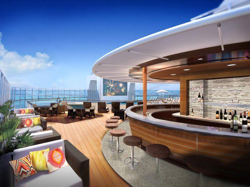Bar H20 du bateau de croisière Norwegian Escape