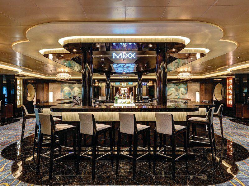 Le Mixx Bar du bateau de croisière Norwegian Escape