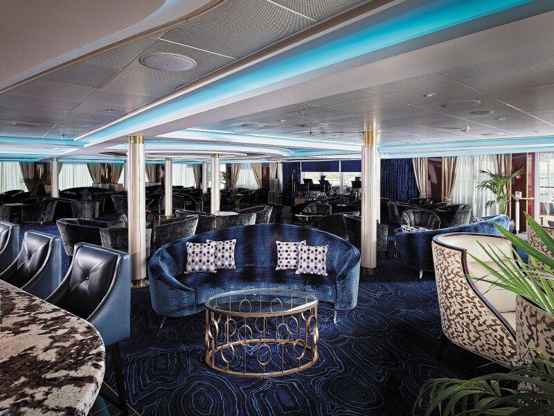 GALIOS LOUNGE du bateau de croisière Seven Seas Navigator
