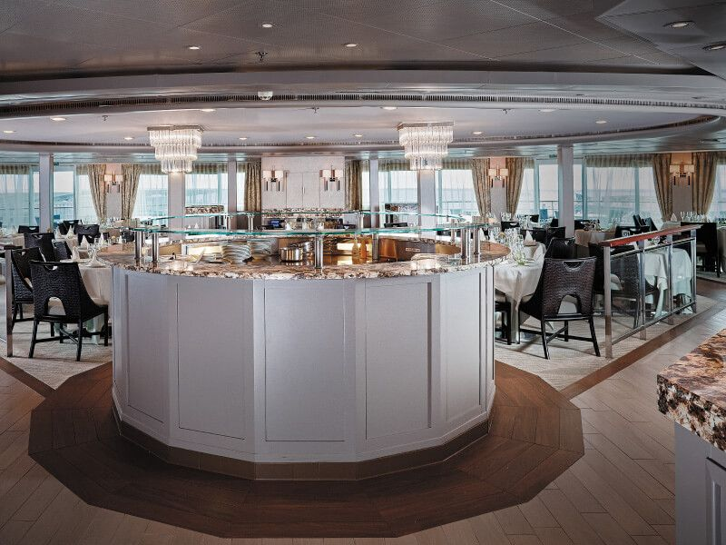 La Véranda du bateau de croisière Seven Seas Navigator