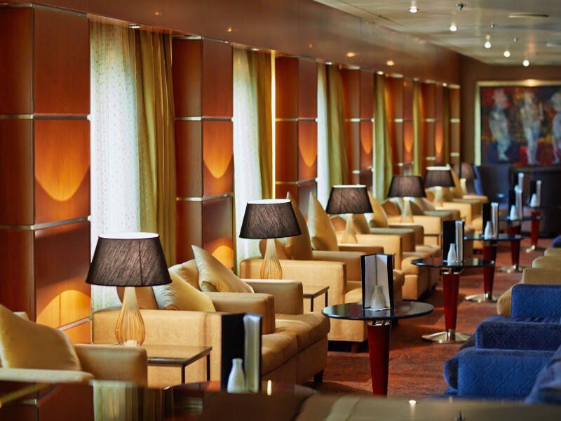 Mariner Lounge du bateau de croisière Seven Seas Mariner