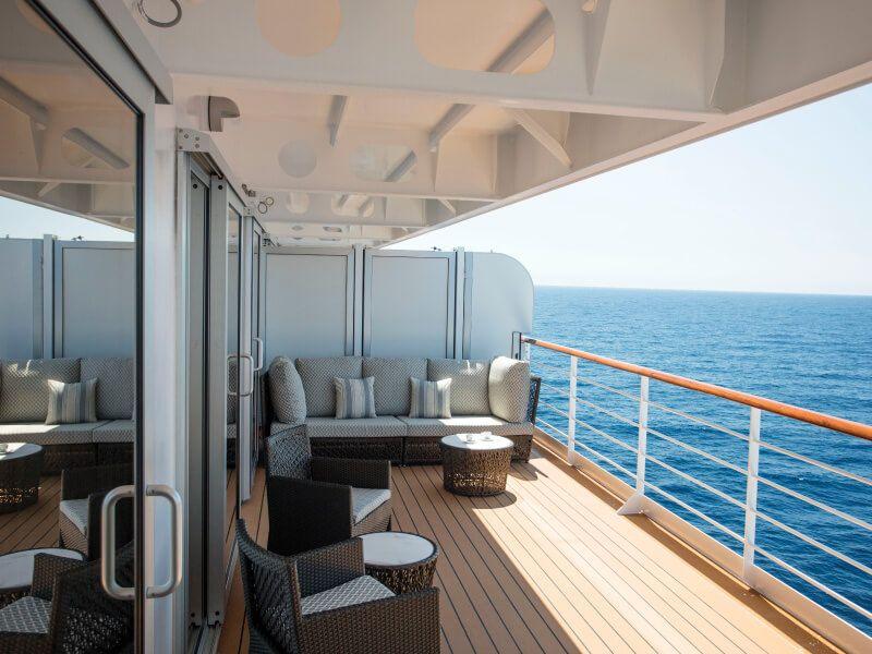Suite balcon du bateau de croisière Seven Seas Explorer