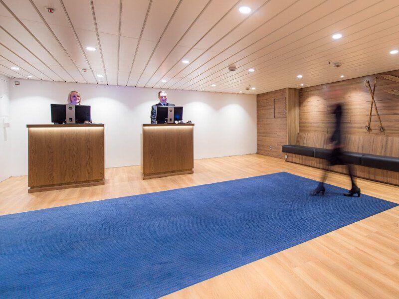 Réception du bateau de croisière MS Kong-Harald
