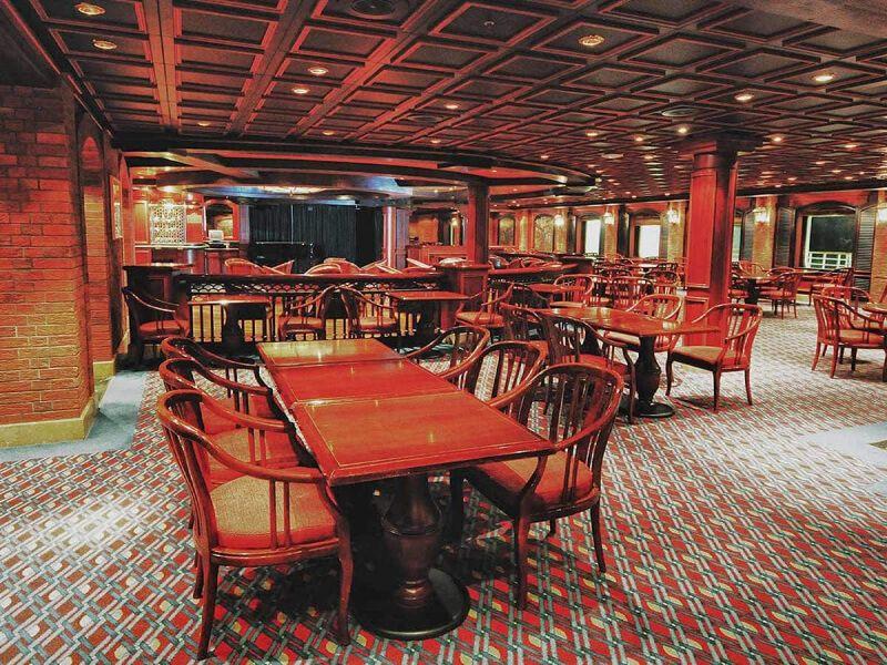 Bayou café du bateau de croisière Coral Princess