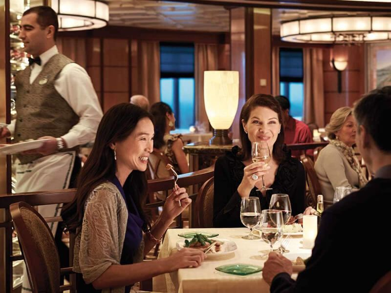 Restaurant Sabatini's du bateau de croisière Coral Princess