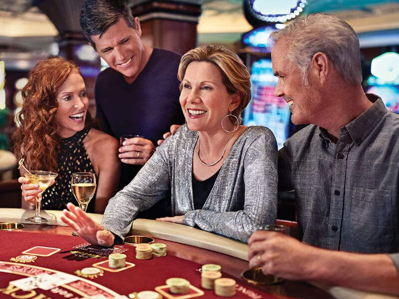 Casino du bateau de croisière Island Princess