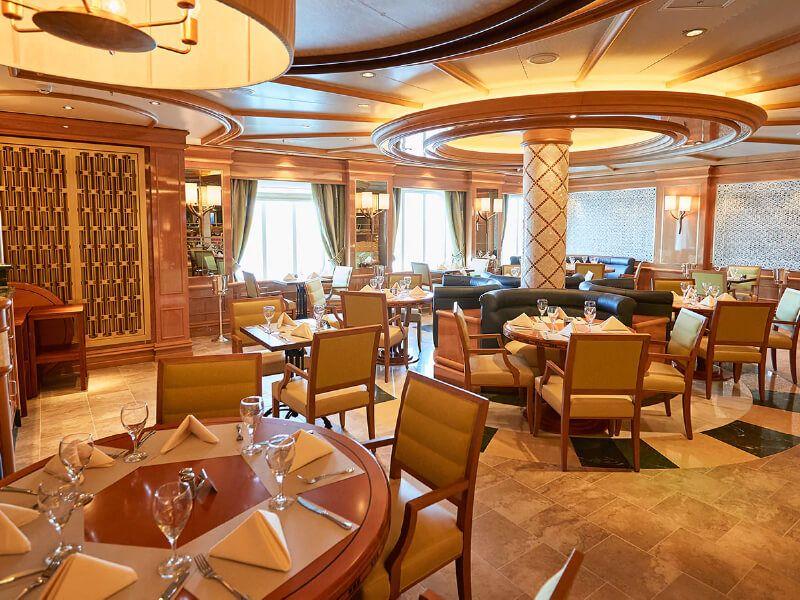 Alfredo's pizza du bateau de croisière Royal Princess