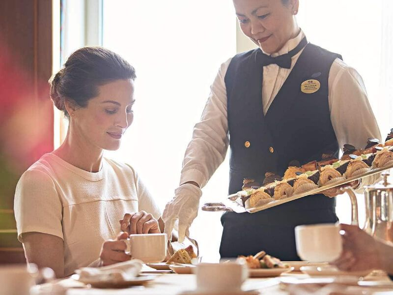 Café International du bateau de croisière Royal Princess