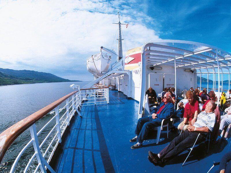 Pont Soleil du bateau de croisière MS Kong Lofoten