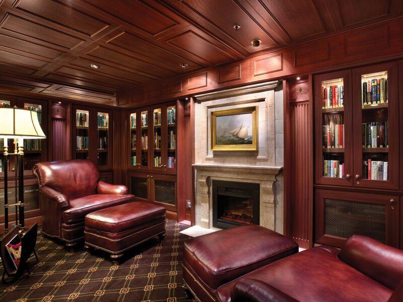Bibliothèque du bateau de croisière Nautica