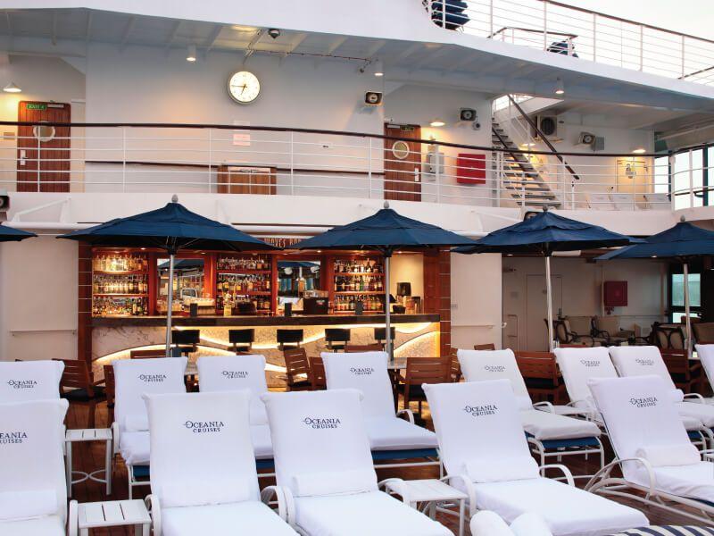 Waves bar du bateau de croisière Sirena