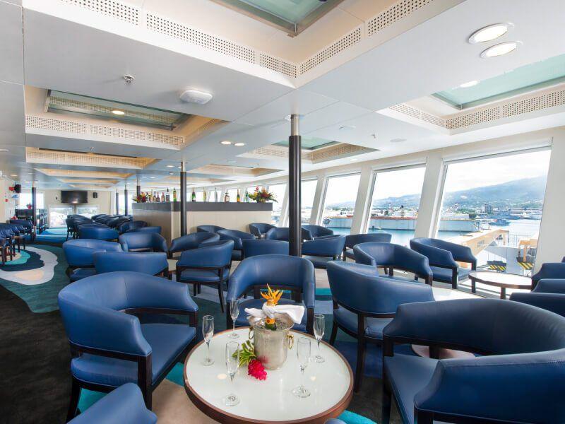 Sky Bar du bateau de croisière Aranui 5