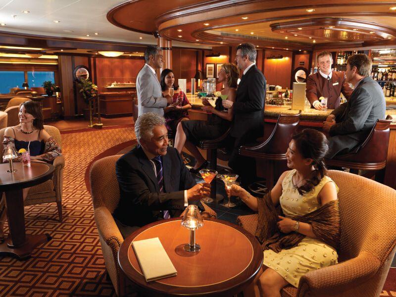 Connoisseur Club du bateau de croisière Queen Elizabeth