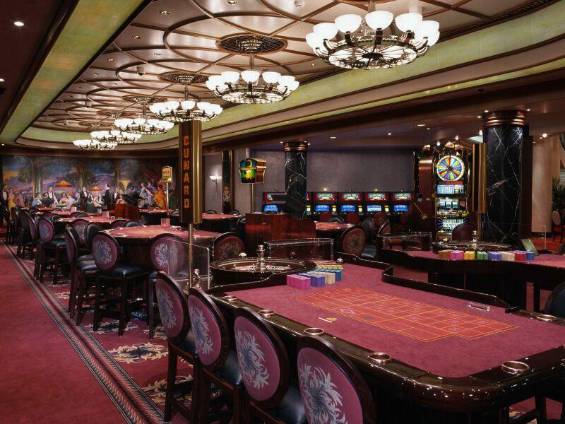 Casino du bateau de croisière Queen Mary 2