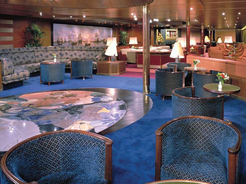 Explorers Lounge du bateau de croisière MS Amsterdam