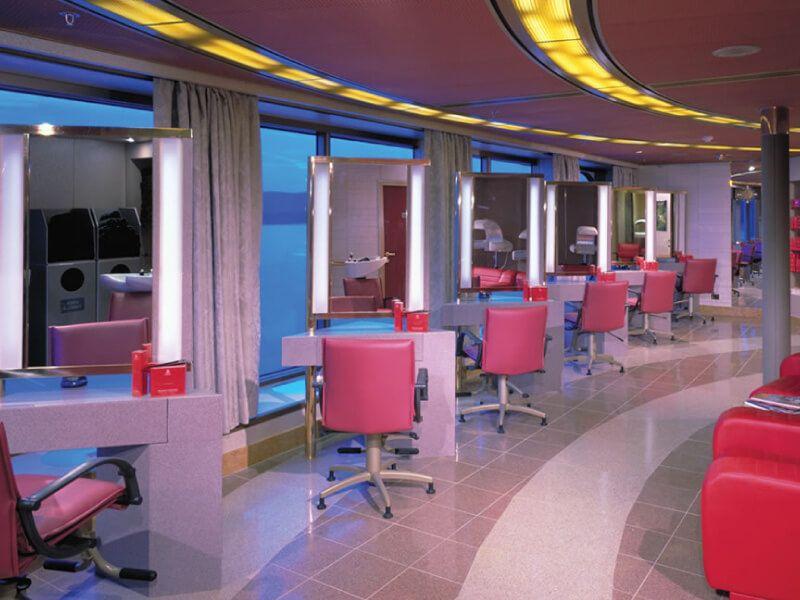 Salon de beauté du bateau de croisière MS Amsterdam