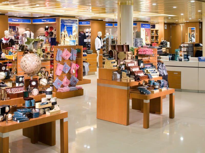 Boutique du bateau de croisière MS Eurodam