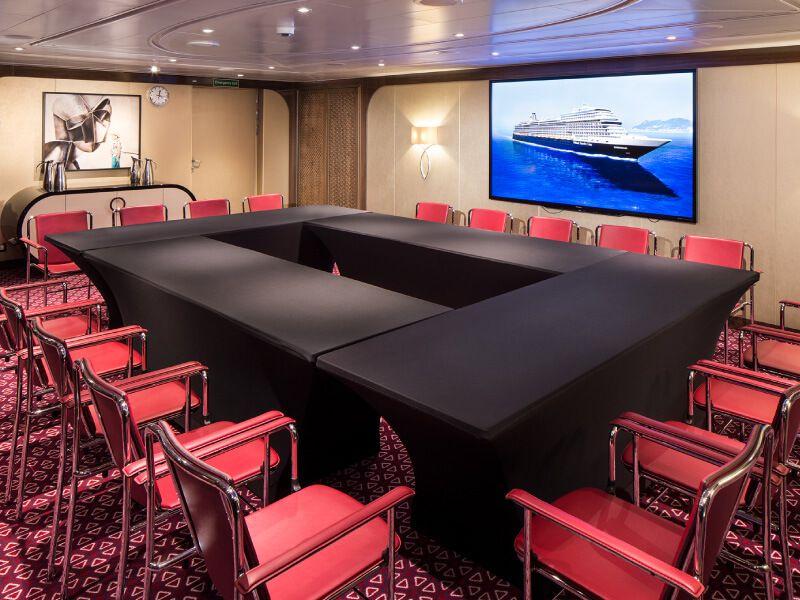 Salle de conférence du bateau de croisière MS Koningsdam
