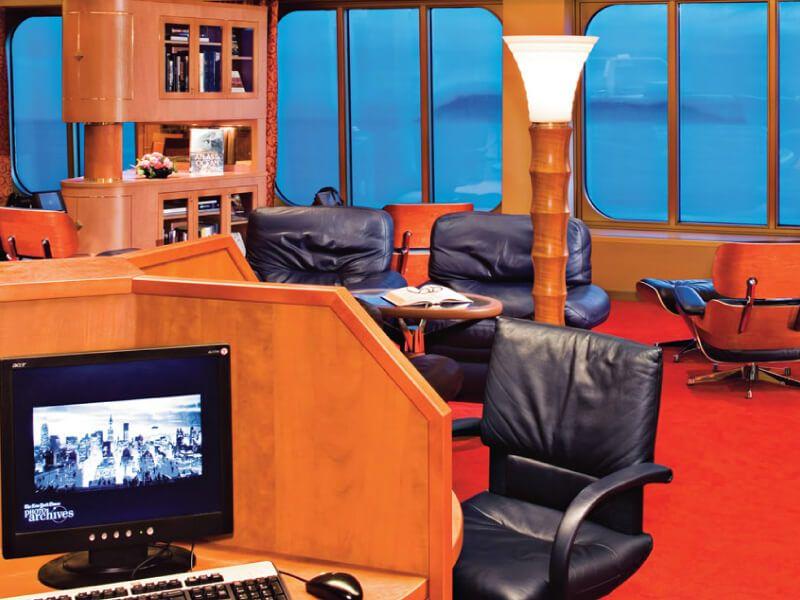 Zone internet du bateau de croisière MS Maasdam