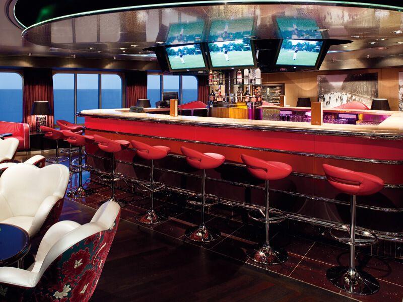 Photo d'un des bars du bateau de croisière MS Nieuw Amsterdam