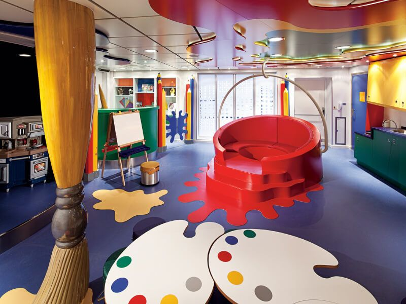 Club HAL du bateau de croisière MS Nieuw Amsterdam