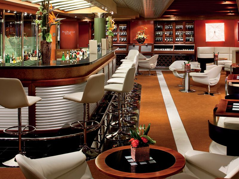Pinnacle Bar du bateau de croisière MS Nieuw Amsterdam