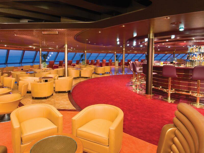 Lounge du bateau de croisière MS Noordam
