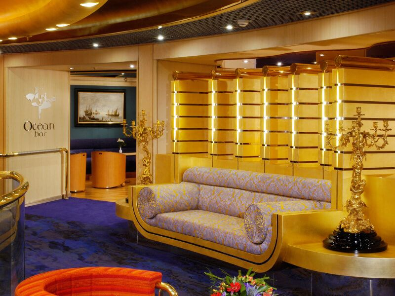 Ocean Bar du bateau de croisière MS Oosterdam