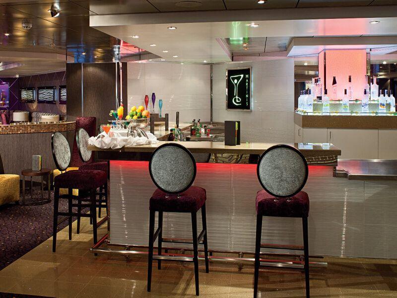Bar Martini du bateau de croisière MS Rotterdam