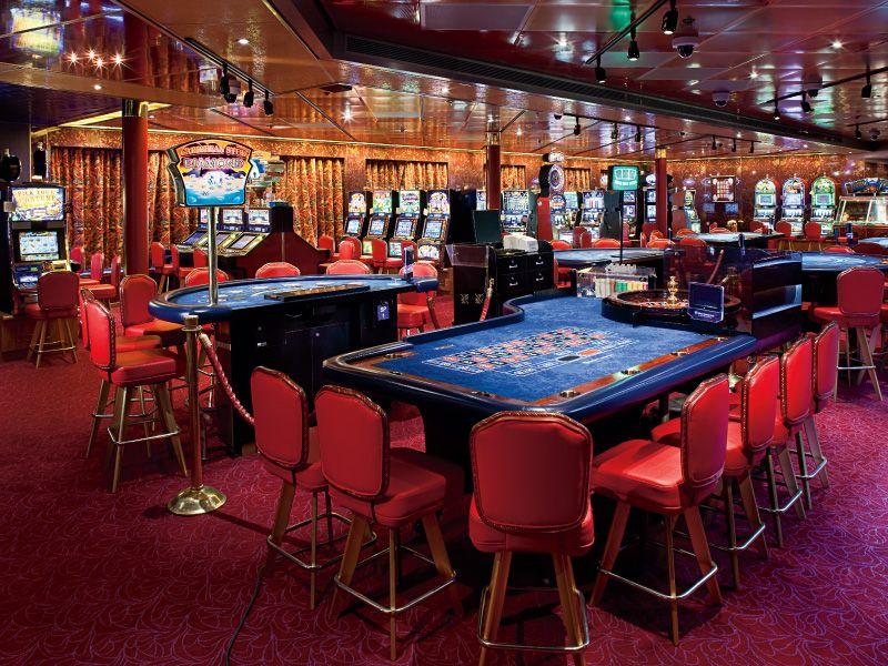 Casino du bateau de croisière MS Rotterdam