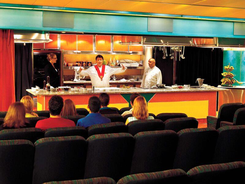 Centre des arts culinaires du bateau MS Ryndam