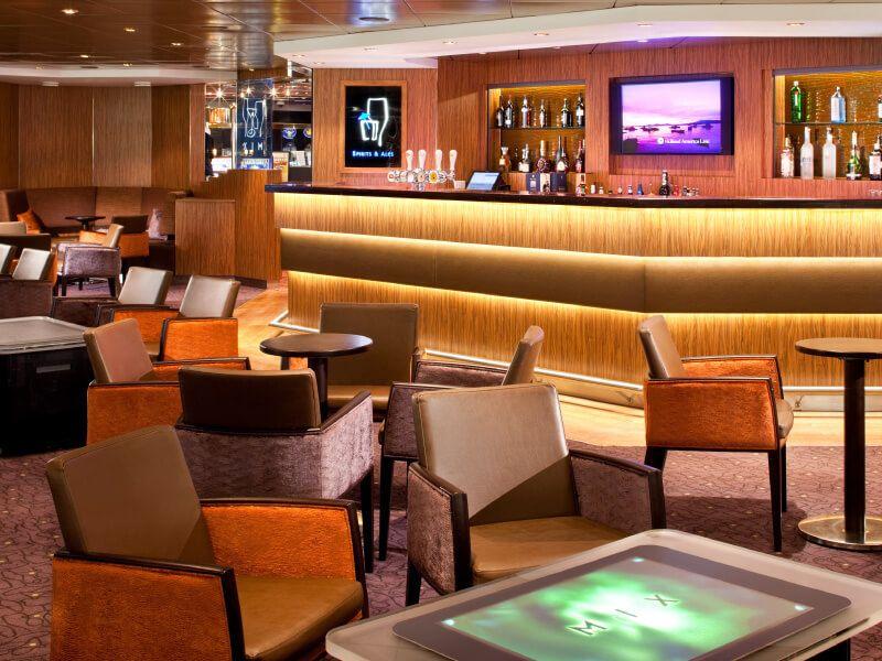 Mix Bar du bateau de croisière MS Veendam