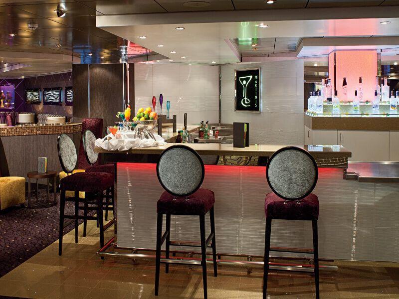 Martini's Bar du bateau de croisière MS Volendam