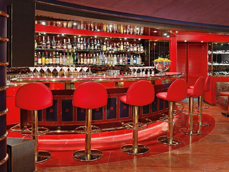 Bar 2 du bateau de croisière MS Westerdam