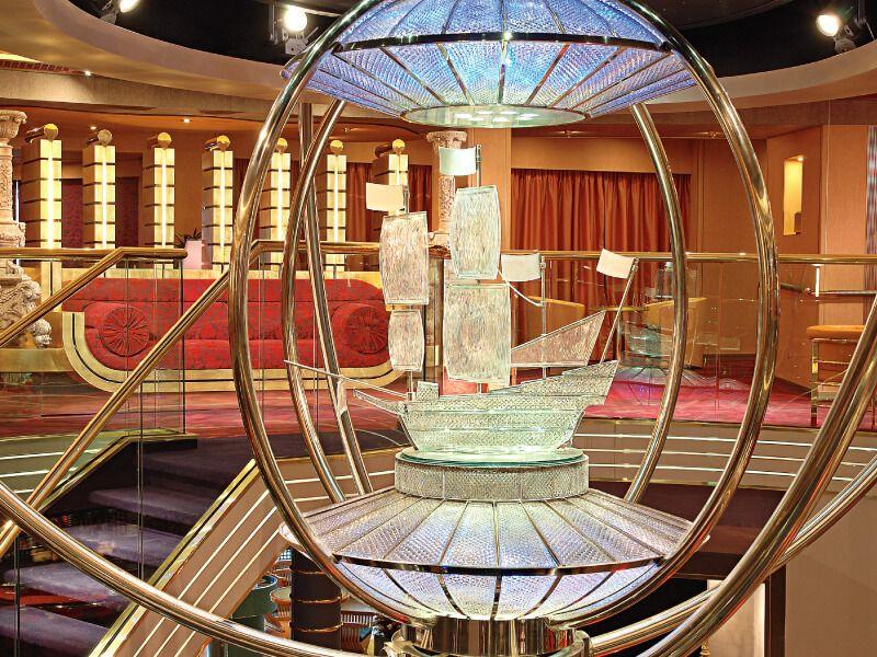 Hall du bateau de croisière MS Westerdam