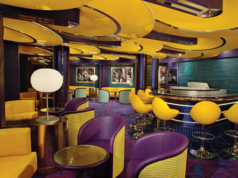 Lounge du bateau de croisière MS Westerdam