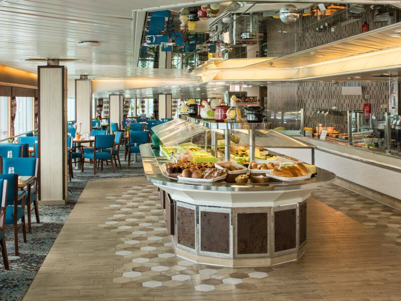 Restaurant LIDO du bateau de croisière Ms Zaandam