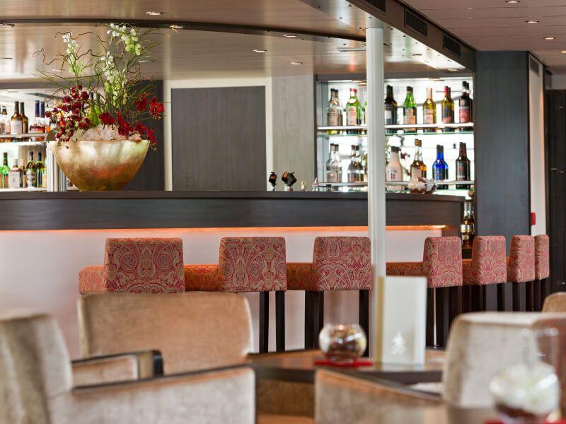 Panorama bar du bateau de croisière M/S Amadeus Brilliant