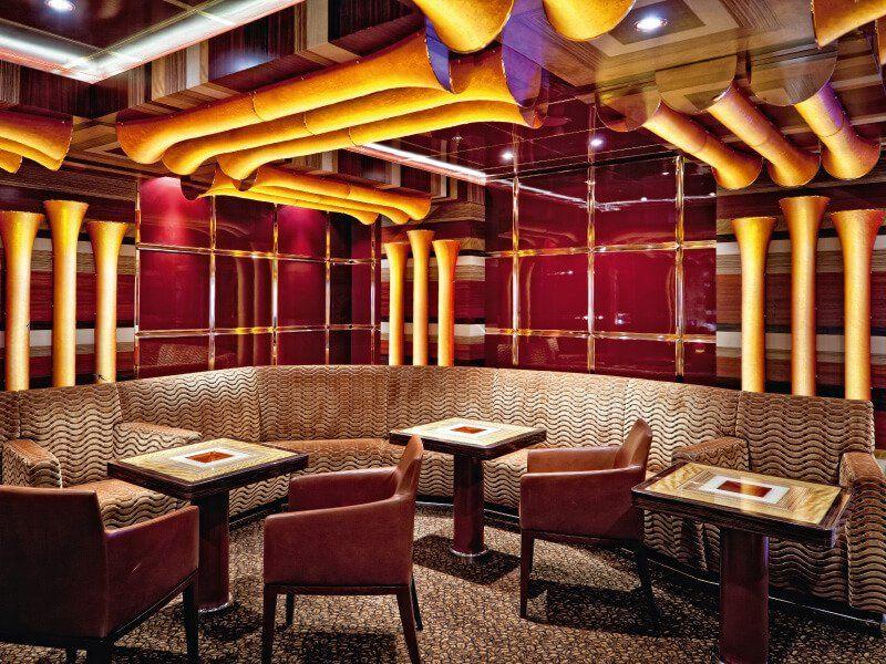 Café du bateau de croisière Costa Fascinosa