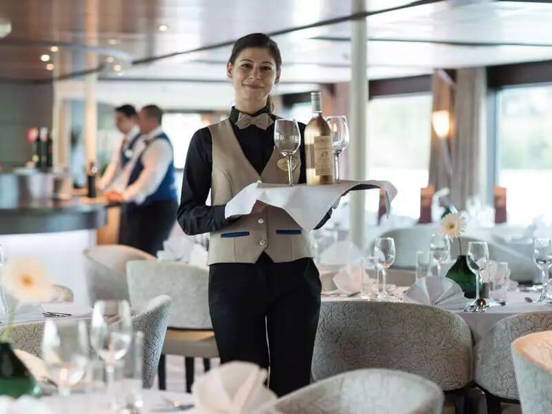 Restaurant du bateau de croisière Amadeus Diamond