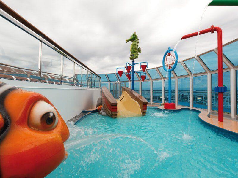 Aqua Parc du bateau de croisière Costa Favolosa