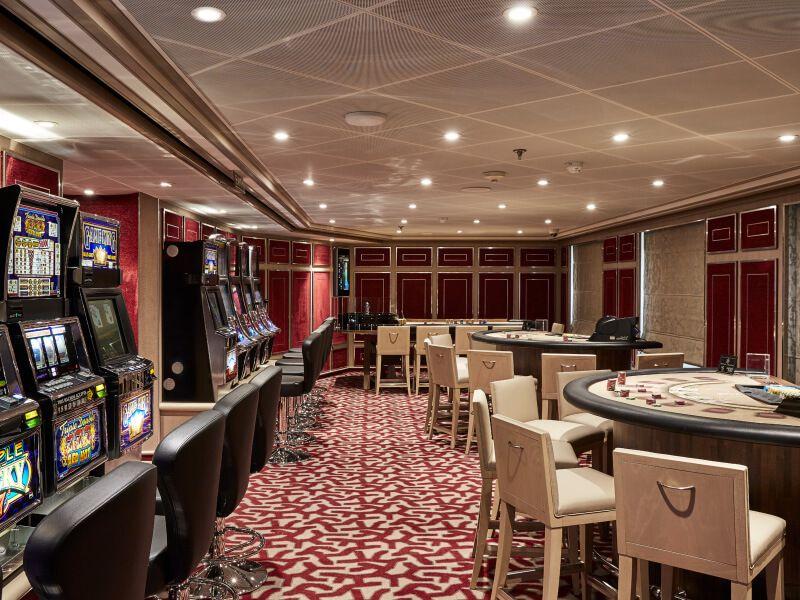 Casino du bateau de croisière Silver Muse