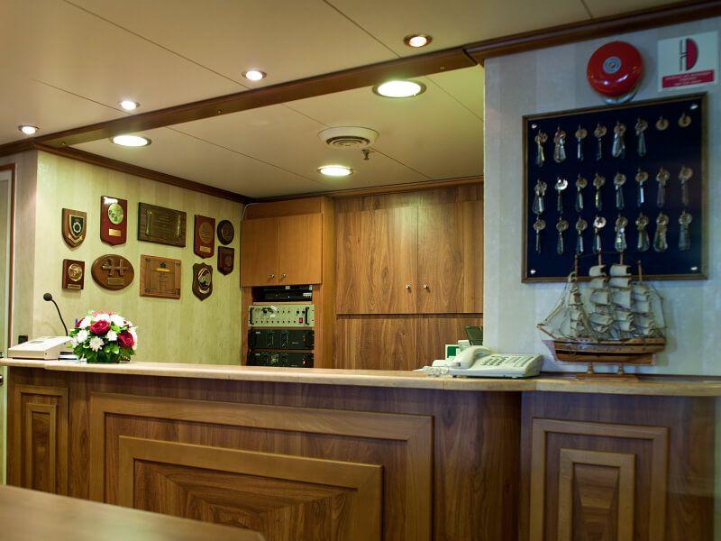 Réception du bateau de croisière M S Panorama