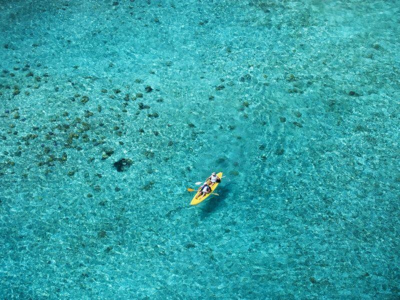 Escale à Bora Bora lors d'une croisière Paul Gauguin