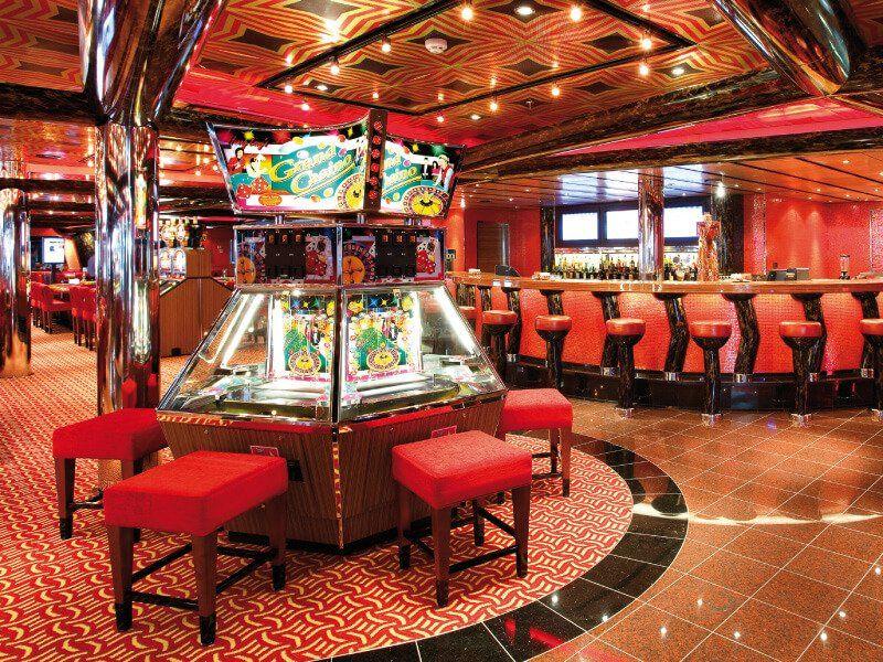 Casino du bateau de croisière Costa Deliziosa