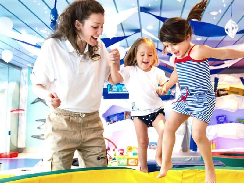 Club enfants du bateau de croisière MSC Seaside