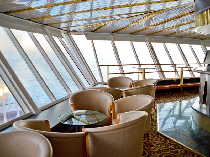 Bar Horizon du bateau de croisière Celestyal Crystal