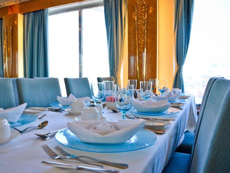 Restaurant AMALTHIA du bateau de croisière Celestyal Crystal