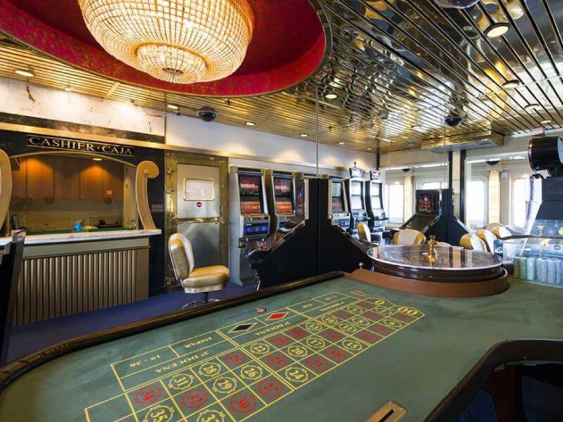 Casino du bateau de croisière Celestyal Nefeli
