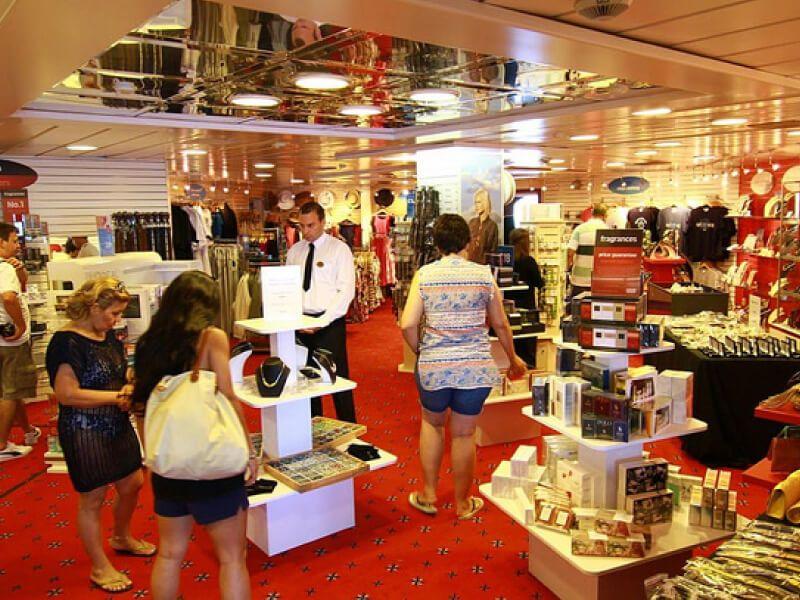 Shopping à bord du bateau de croisière Celestyal Olympia